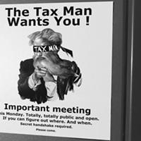 """Council's secret """"public meeting"""" on tax reform"""