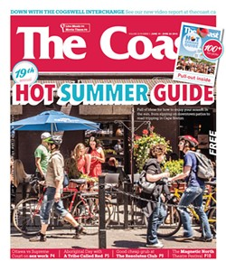 "Cover image of the Hot Summer Guide, where ""The ultimate road trip"" appeared"