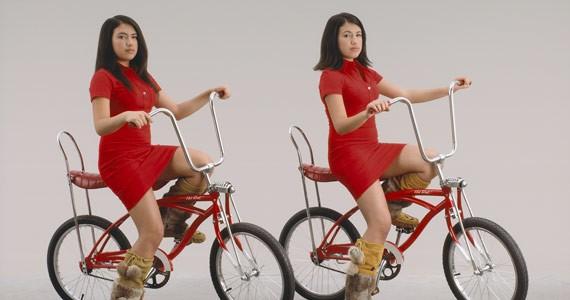 "Dana Claxton's ""Baby Girlz Gotta Mustang"" is on display as part of Steeling the Gaze."