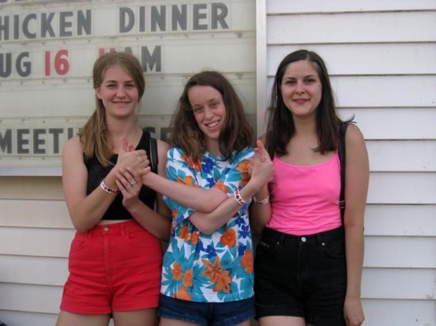 Danika, Allison and Hannah: true rebel girl rockers - ADRIA YOUNG