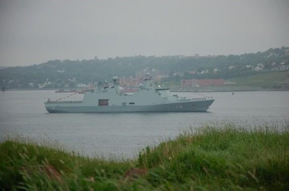 Danish ship Absalon