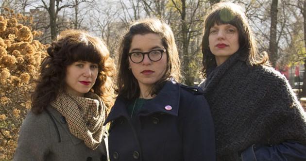 Dark for Dark (Melanie Stone, Rebecca Zolkower, Jess Lewis) plans to release its album in the spring. - KATIE MCKAY