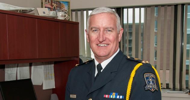 Deputy chief Bill Moore of the Halifax Regional Police. - HALIFAX REGIONAL POLICE