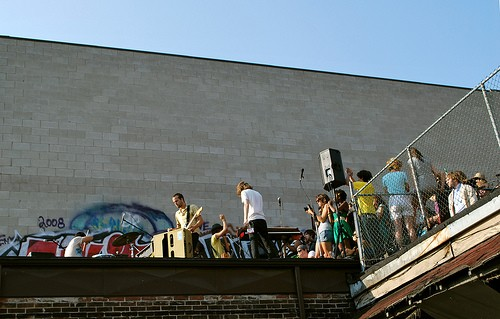 The Balconies @ Audio Blood HQ