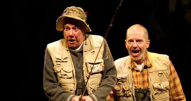 Don Ritchie and Jon Dartt in  The Fly Fisher's Companion