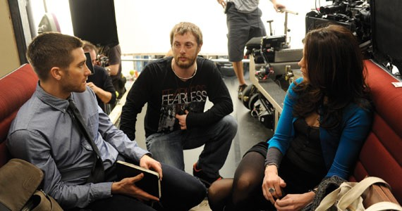 Duncan Jones directs hotties on a train Jake Gyllenhaal and Michelle Monaghan.