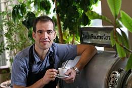 Eastern java Jim Dikaios from Java Blend makes the crema de la crema of espresso. photo Julé Malet-Veale