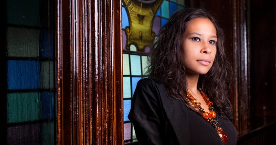 El Jones is so committed to spoken word that some of her poems were never written down until text was needed for her book. - RILEY SMITH