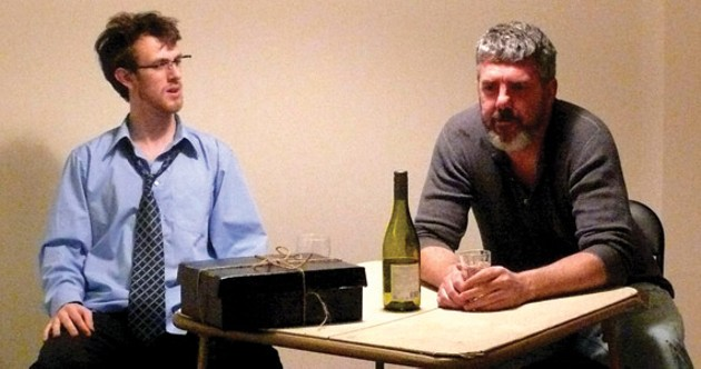 Eric Fitzpatrick and Frank Maclean in A Box, a Bag and a Bottle