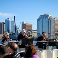 Everyone reacts differently to the music on Brass on Board semi-surprise concerts.
