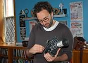 Experimental filmmaker Solomon Nagler