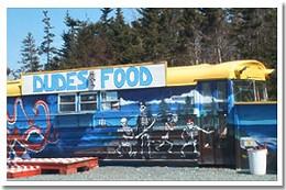 Feast ahoy! Dude's Food is a treasure chest of tasty treats.