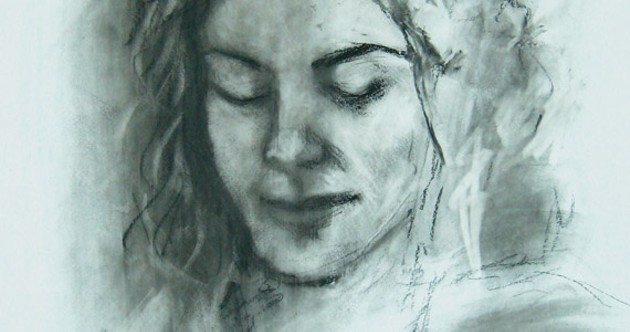 Find Gayle Sandwith's drawing at Port Loggia Gallery.