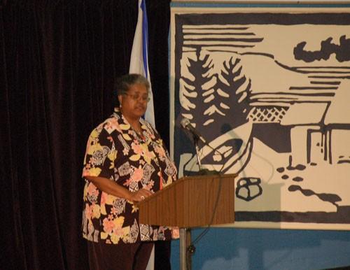Former Africville resident Brenda Steed-Ross.