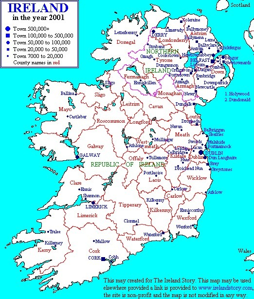 Map Of Ireland 32.Free Coffee At Ireland 32 On St Patrick S Day The Feed
