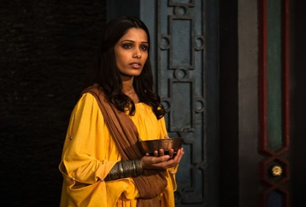 Frida Pinto plays Immortals' love interest Phaedra. - JAN THIJS