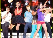 <i>Glee: The 3D Concert Movie</i> calculated karaoke