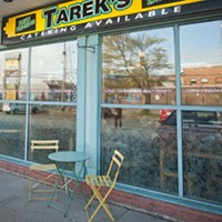 Gold winner, Tarek's Cafe.