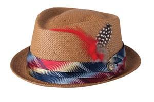 Goorin straw hat, $55, Biscuit General Store.