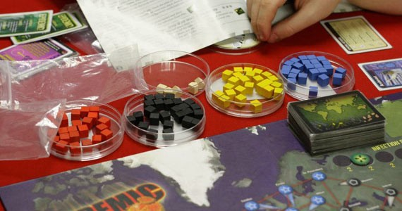 Got a flu-ridden workplace like us? Pandemic is a cooperative game - that let's you save the world from viral infections.