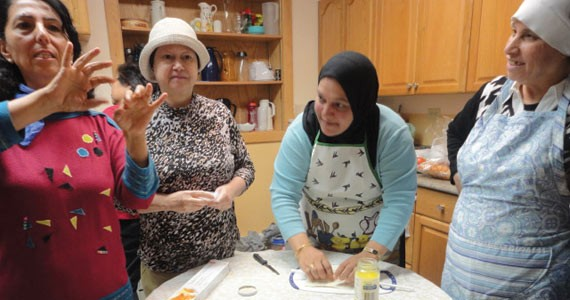 Grandma's Kitchen brings women from all backgrounds together to cook, talk and learn. - MAHA AMIN