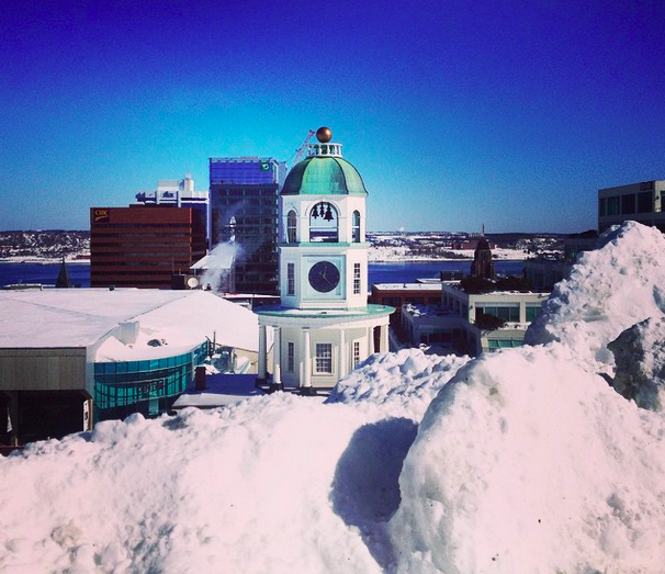 """Halifax battered but not broken."" - HALIFAXLOGAN, ON INSTAGRAM"