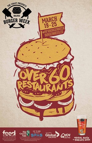 Halifax Burger Week March 19-25 2015 official poster