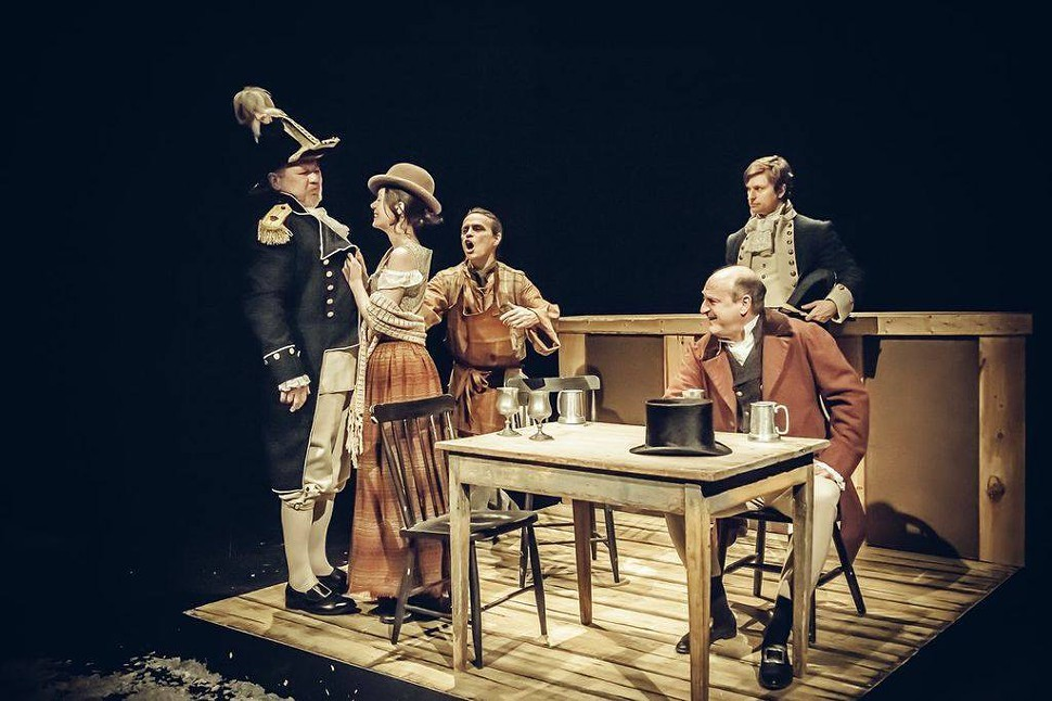 Halifax circa 1813 comes to life in Never a Syllable