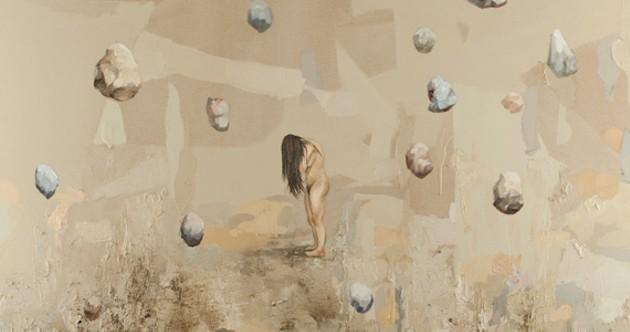 "Hangama Amiri's ""Hanging Stones."""