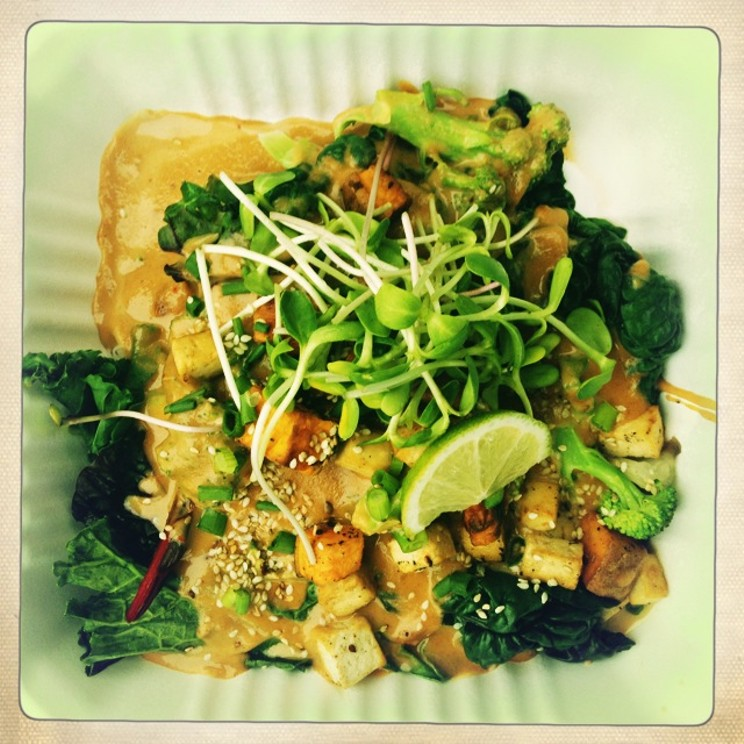 Heartwood does it the best vegetarian style