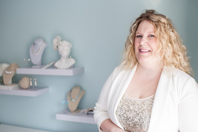 Heather Mizzi, founder of My Something Borrowed. - MEGHAN TANSEY WHITTON