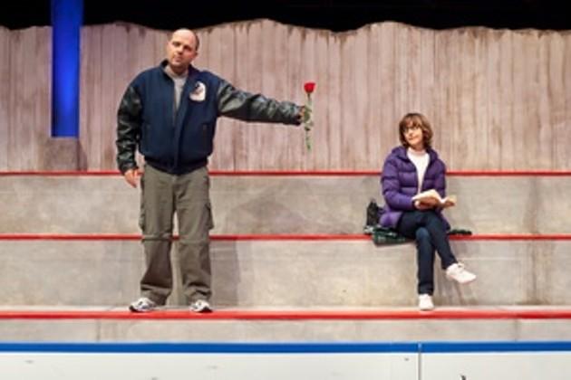 Heather Rankin and Kevin Kincaid star in Neptune's production of Hockey Mom, Hockey Dad