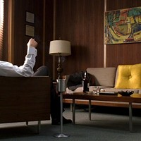 Hi, can I get this chair with a side of Don Draper?