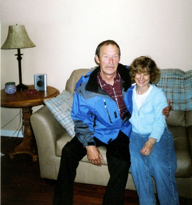 Holly and her father, Wayne Bartlett.