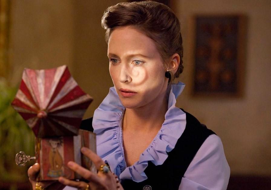 In The Conjuring Vera Famiga plays original ghostbuster Lorraine Warren.