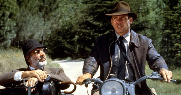 Indy has long been the gold standard of cool men; I think that jacket is the ticket.