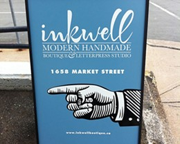 Inkwell Modern Handmade Boutique and Letterpress Studio wins Gold in The Coast Best of Halifax