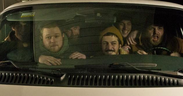 It's a van-load of bluegrass.
