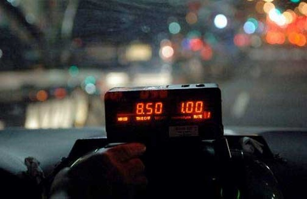 It's damned near impossible to get a taxi NYE night, if you don't prepare for it