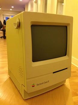 J. Cortland Thorowgood's first computer.