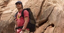 James Franco stayed in his one-man canyon and read school work while shooting 127 Hours.