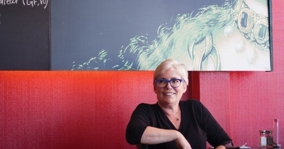 Jane Wright contemplates the future. - MELISSA DUBÉ
