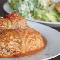 Jannina's cabbage rolls are made-by-mom good.