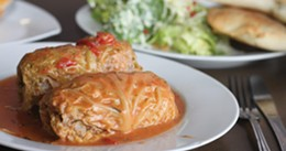 MELISSA BUOTE - Jannina's cabbage rolls are made-by-mom good.