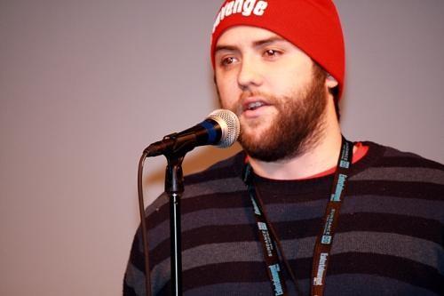 Jason Eisener, director of Hobo With A Shotgun
