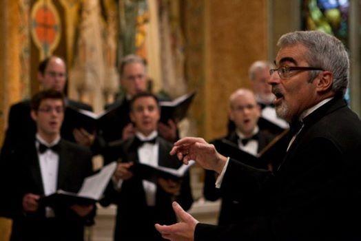 Jeff Joudrey leads a heavenly chorus