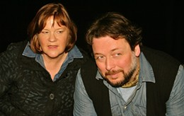 Jeremy Webb and Susan Stackhouse play over 30 characters between them.