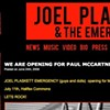 Joel Plaskett Emergency to open for Macca