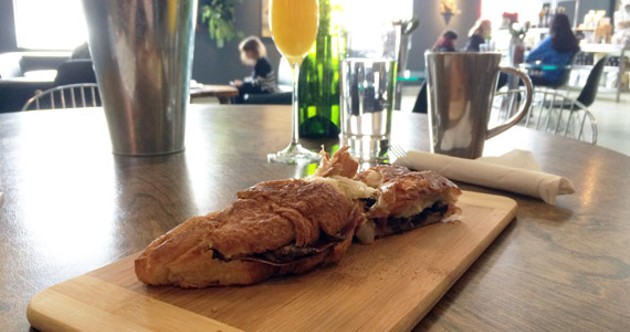 Joel's Favourite Breakfast sandwich is a balanced combination of fatty, salty, earthy and savoury.
