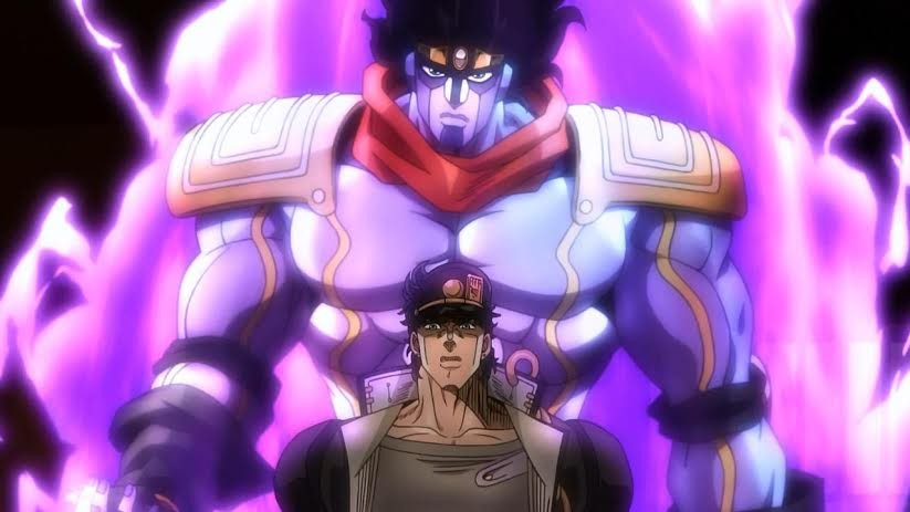 JoJo's Bizarre Adventure, a current anime favourite